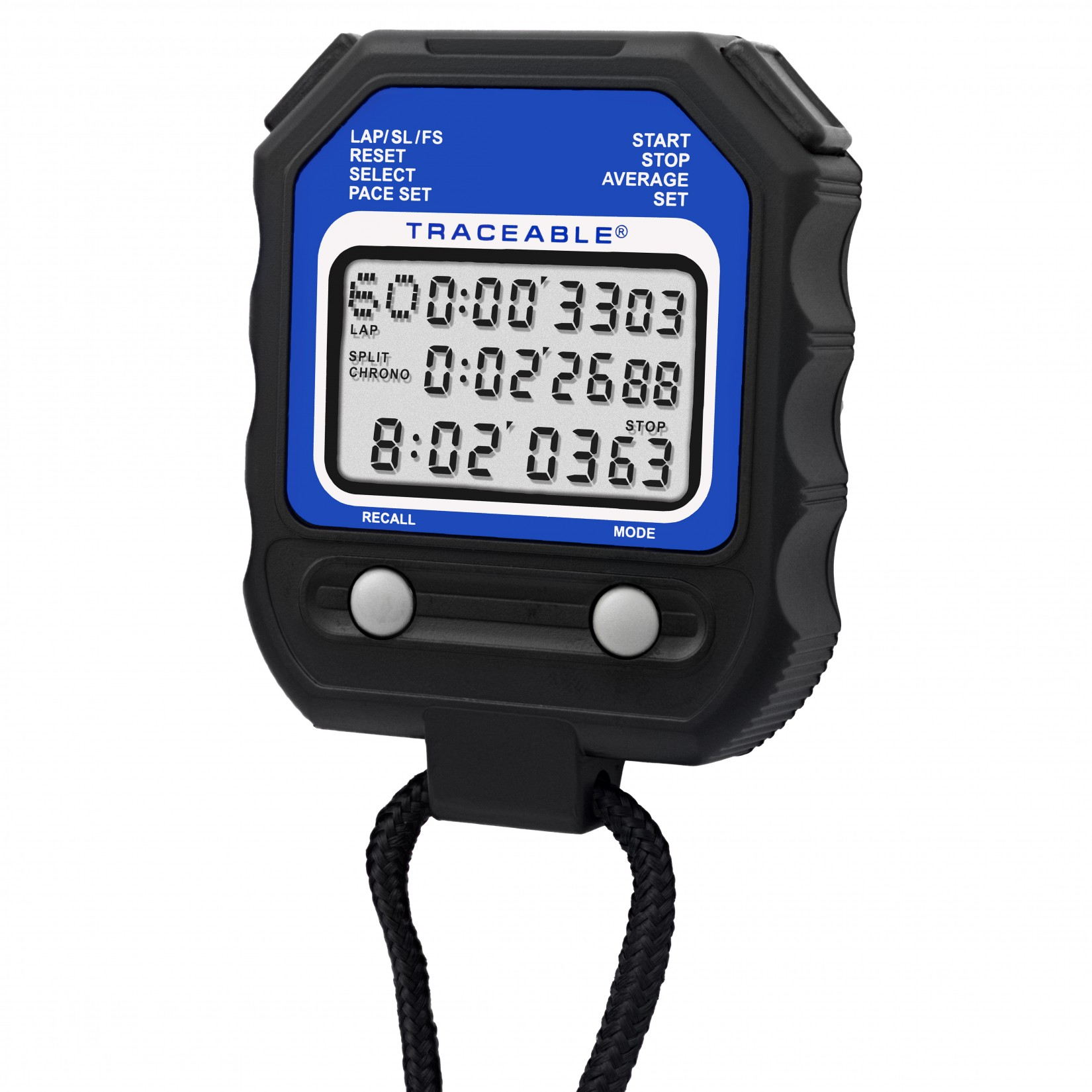 Cronómetro con 60 memorias Certificado