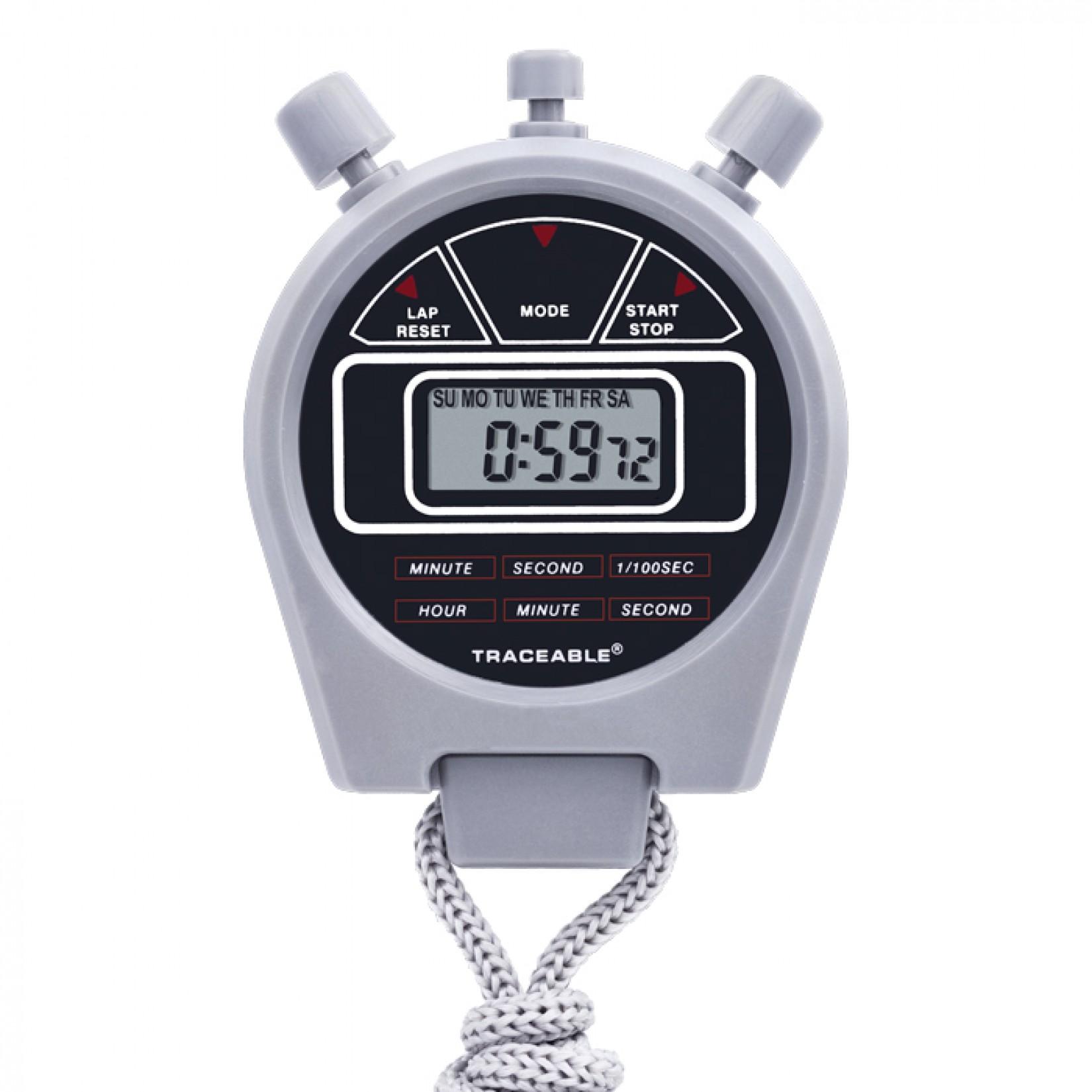 Cronómetro de 3 botones Certificado