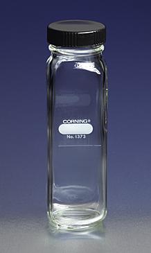 Botella graduada para dilución de leche, Boca ancha, Con tapa de rosca