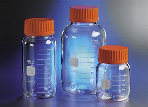 Botella almacenamiento resistente, Con boca ancha, Tapa GLS80