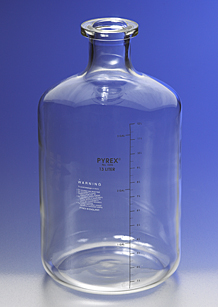 Botella graduada para soluciones