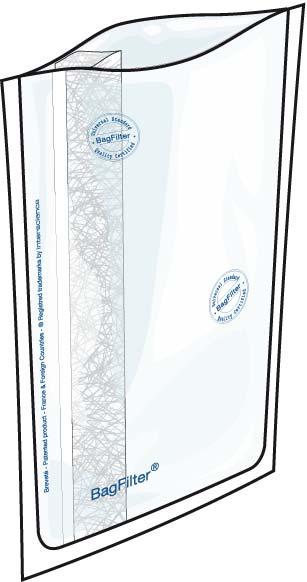 Bolsas estériles para microbiología