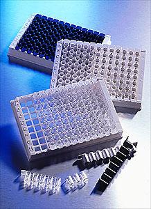 Microplaca de 96 pozos STRIPWELL® de bajo volúmen