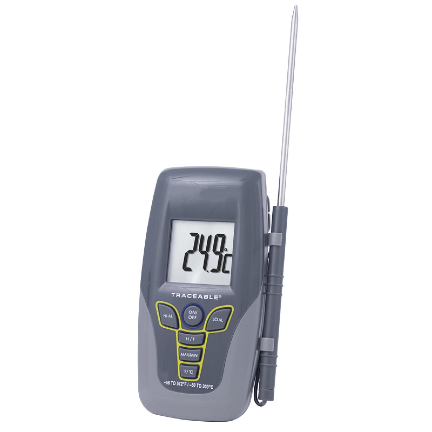 Termómetro con sonda Kangaroo Certificado