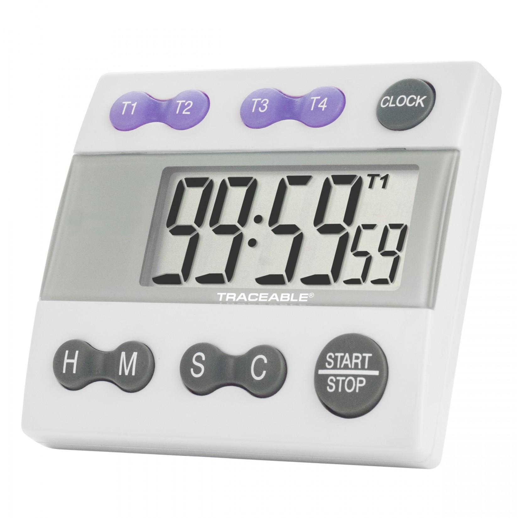 Timer con alarma de cuatro canales