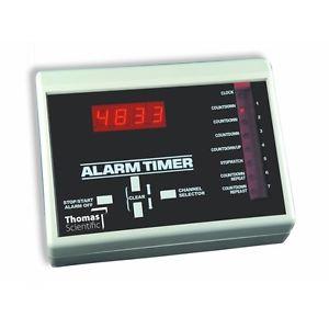 Timer con ocho canales y alarma