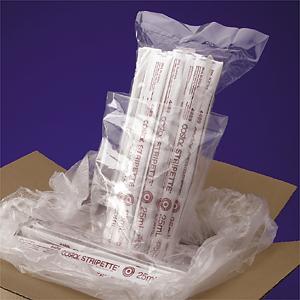 Pipeta serológica Stripette® Empaquetada en bolsa al vacío estéril, con paquetes individuales de papel/plástico, triple empaque.