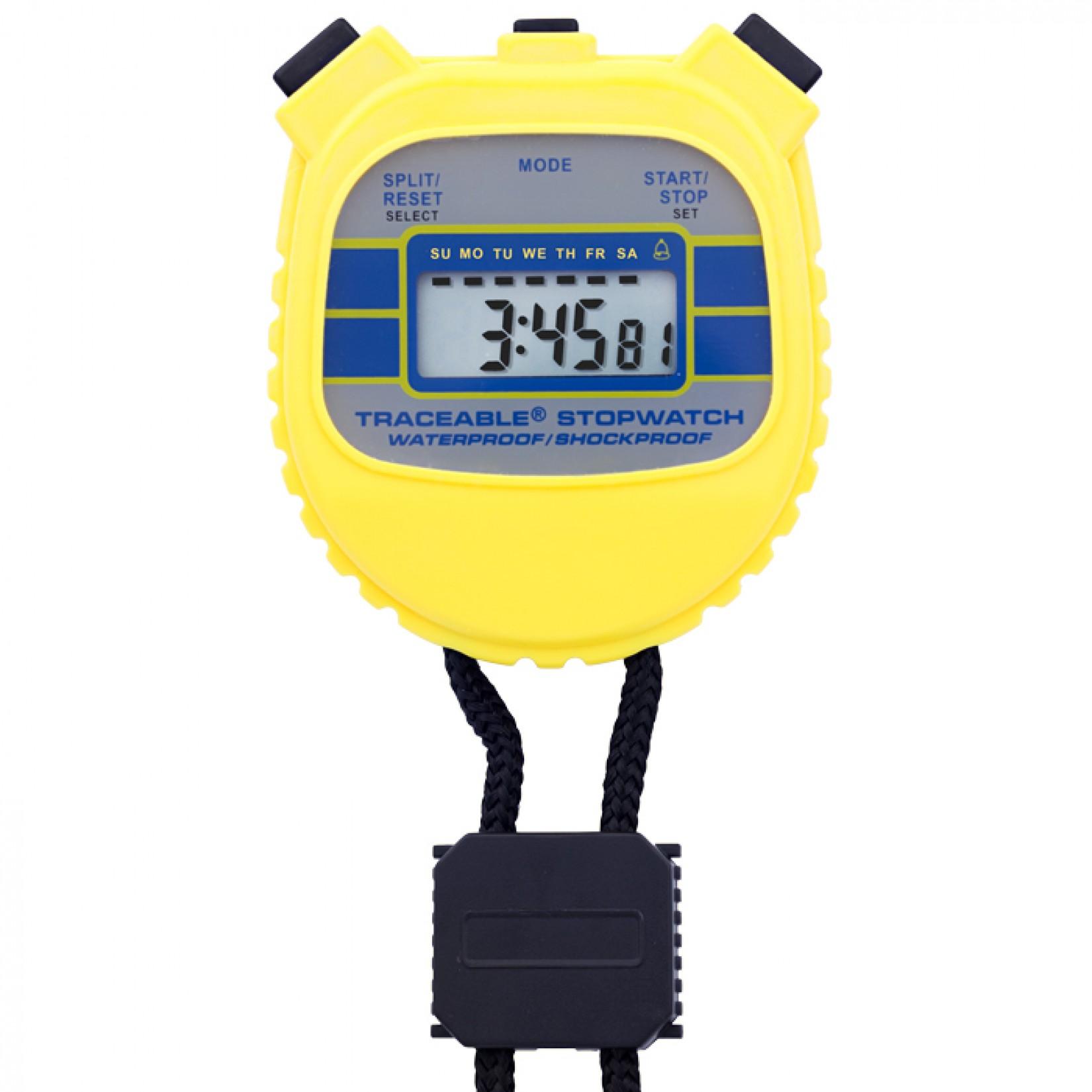 Cronómetro resistente a agua y golpes Certificado