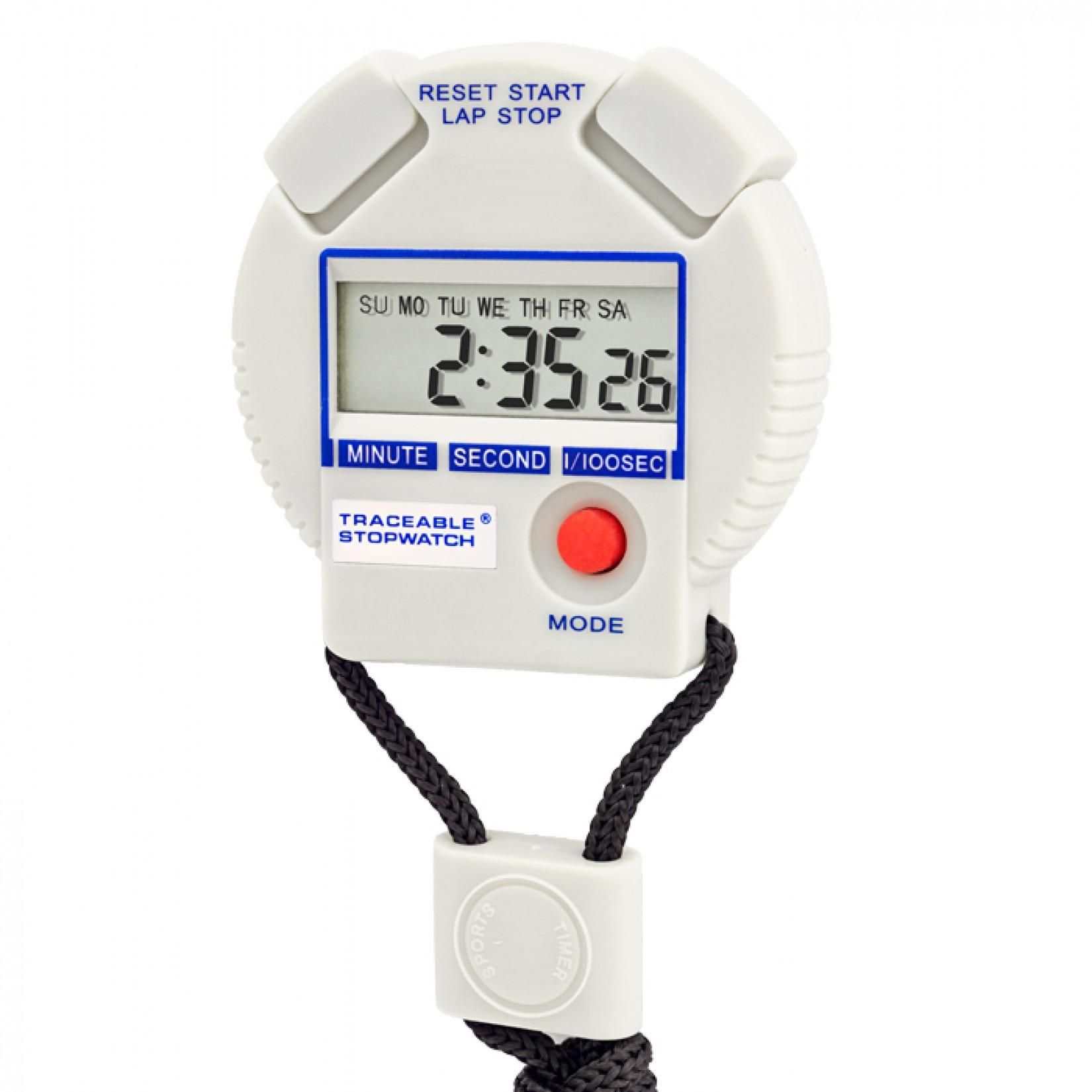Cronómetro con dígitos tamaño Jumbo Certificado