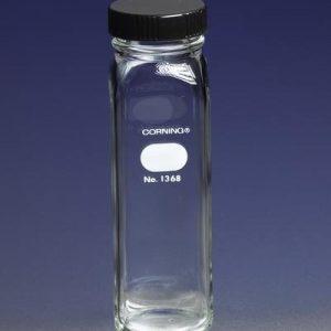 Botella para dilución de leche, Boca ancha, Con tapa de rosca