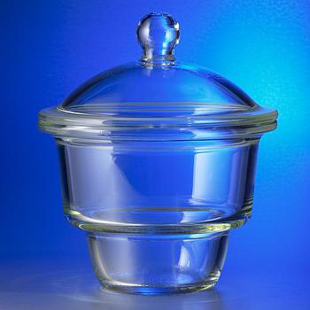 Desecador vidrio borosilicato 7740 (base y tapa)
