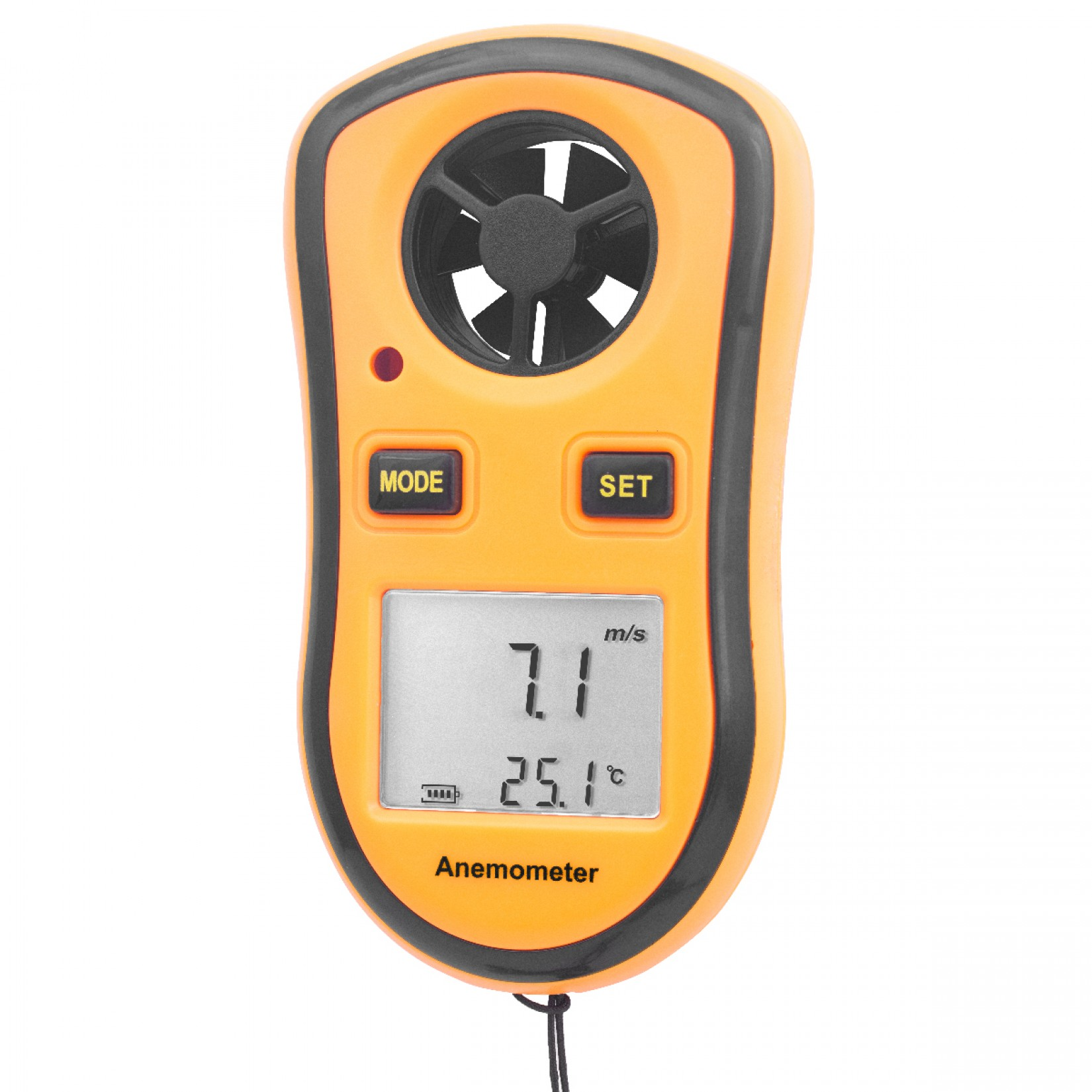 Micro-Anemómetro/Termómetro Certificado