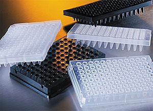 Microplacas para PCR de polipropileno de 96 pozos y accesorios Thermowell GOLD y Thermowell (Amplificación del ADN)
