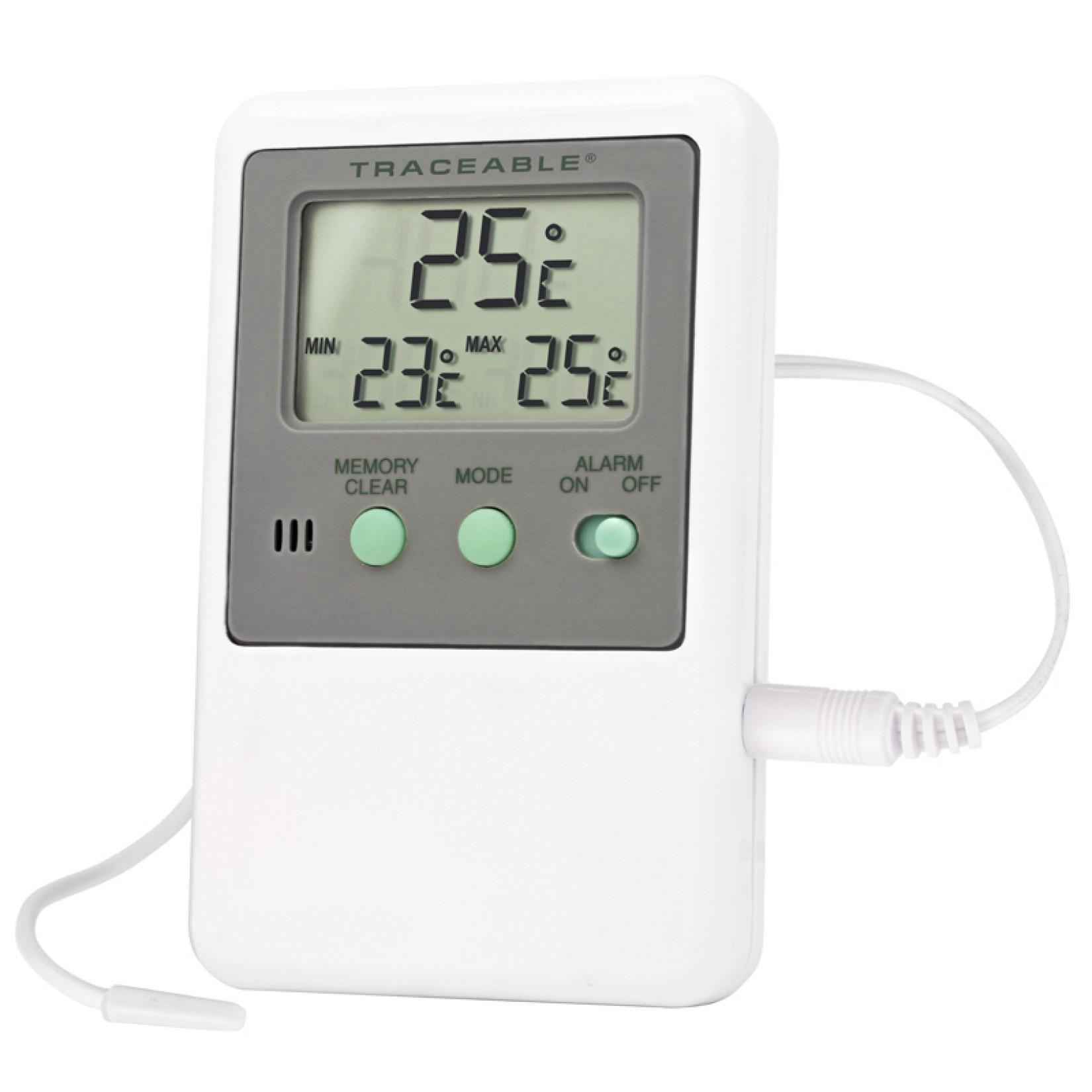 Termómetro con monitoreo y memoria para refrigerador Certificado