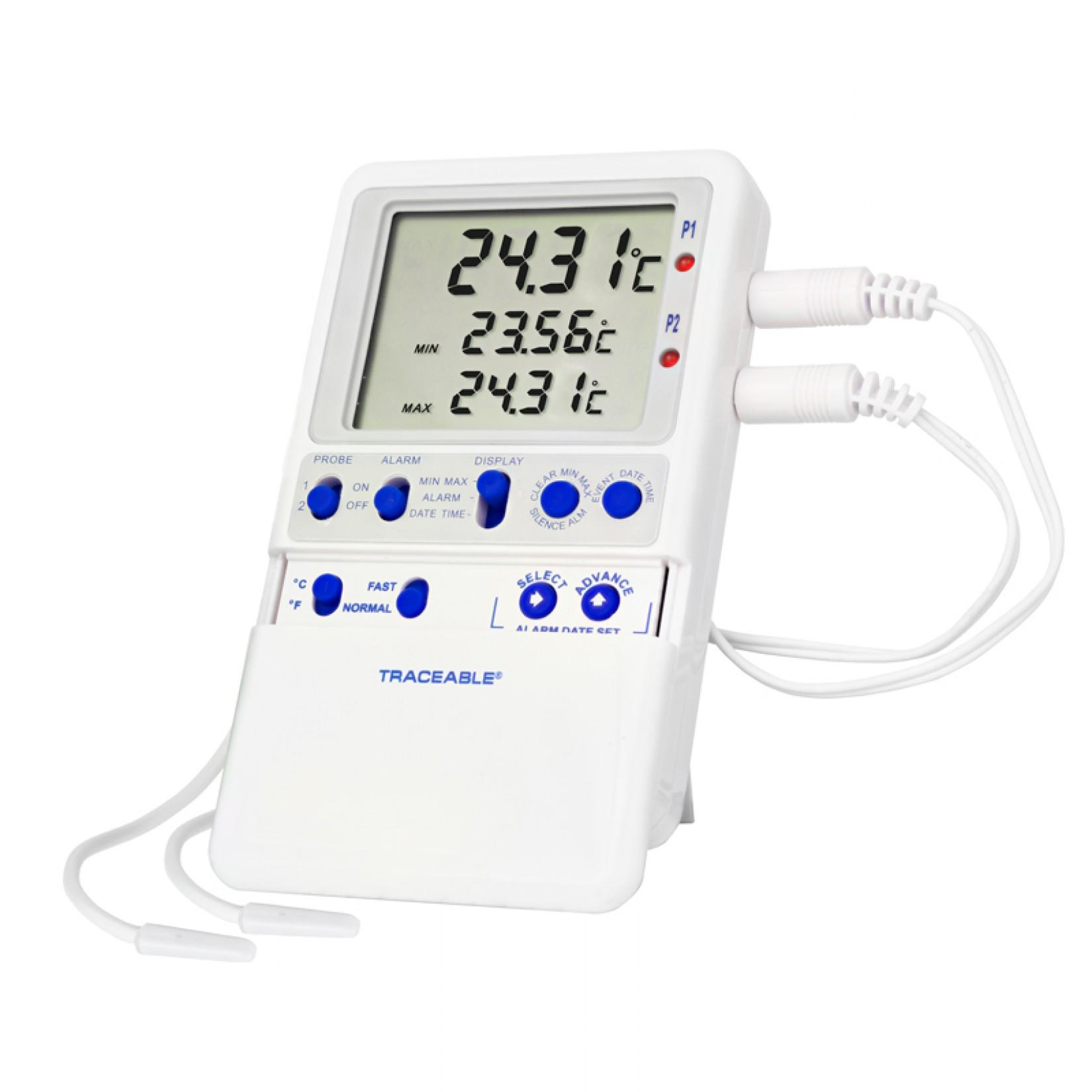 Termómetro para refrigerador de alta Precisión Certificado