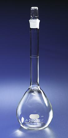 Matraz volumétrico, Tapón de vidrio estándar cónico